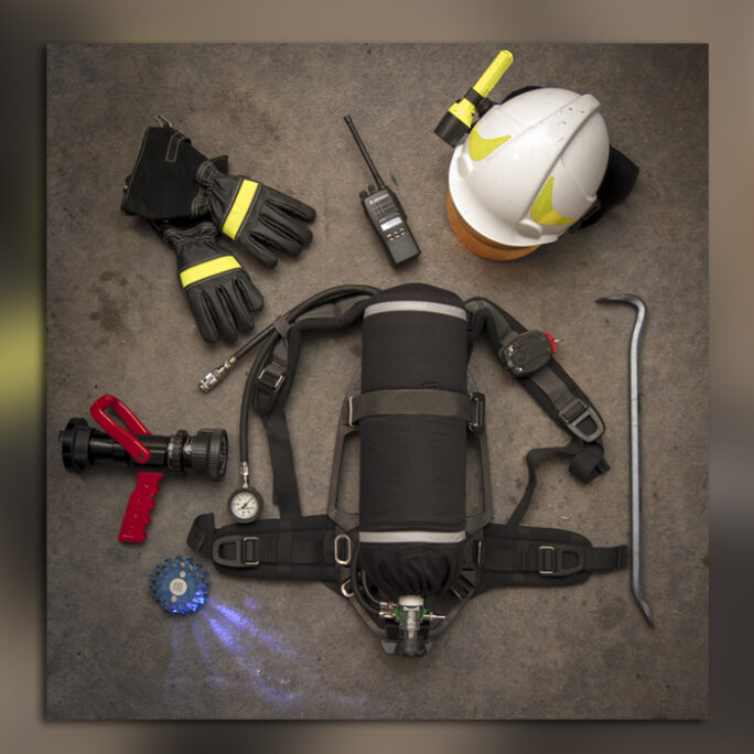 Firefighter Gear Title